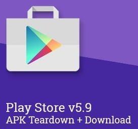 Play Store APK 5.9.11