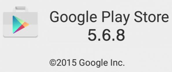 Playstore apk 5.6.8