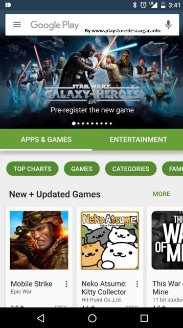 Google Play Store 6.0.0