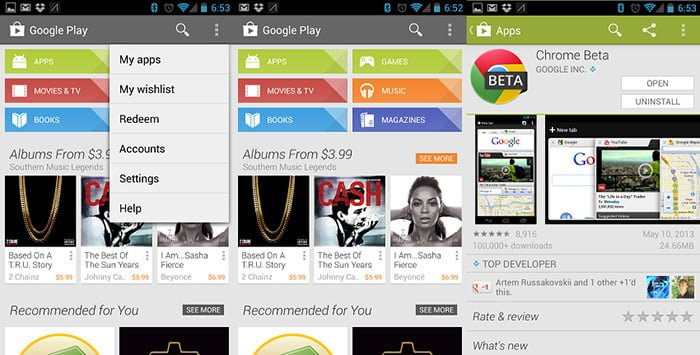 play store para iphone