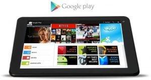 play store para tableta