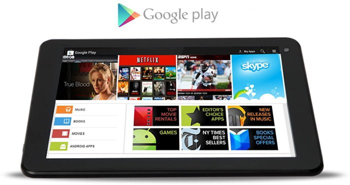 Descargar Play Store para Tablet