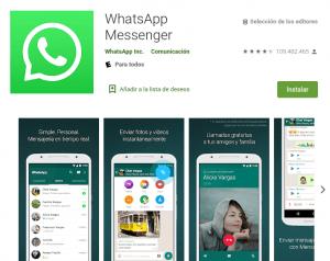 cómo descargar e instalar whatsapp messenger paso a paso en android